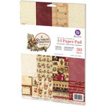 Prima - A Victorian Christmas Collection - A4 Paper Pad