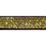 Prima - Memory Hardware - Sequin Trim - Gold