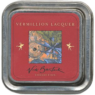 Nick Bantock Ink Pads - Vermillion Lacquer