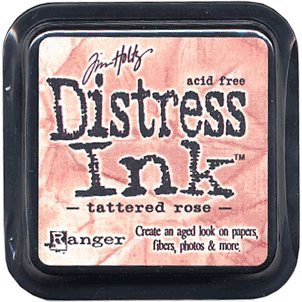Tim Holtz Distress Ink Pads - Tattered Rose