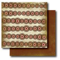 Paper Trunk - Batik Collection - 12 x 12 Double Sided Paper - Divine, CLEARANCE