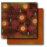 Paper Trunk - Batik Collection - 12 x 12 Double Sided Paper - Marvelous, CLEARANCE