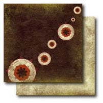 Paper Trunk - Batik Collection - 12 x 12 Double Sided Paper - Ravishing, CLEARANCE