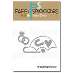 Paper Smooches - Dies - Wedding Shower