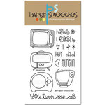 Paper Smooches - Clear Acrylic Stamps - Boob Tubes