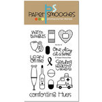 Paper Smooches - Clear Acrylic Stamps - First Aid Kit