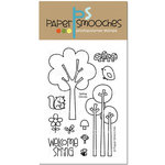Paper Smooches - Clear Acrylic Stamps - Spring Groves
