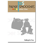 Paper Smooches - Dies - Halloween - Falling For You