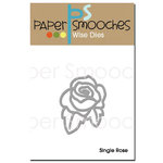 Paper Smooches - Dies - Single Rose