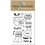 Paper Smooches - Clear Acrylic Stamps - Spookalicious