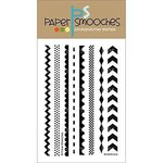 Paper Smooches - Clear Acrylic Stamps - Borderlicious
