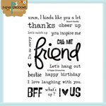 Paper Smooches - Clear Acrylic Stamps - Bosom Buddy