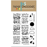 Paper Smooches - Clear Acrylic Stamps - Spreading Sunshine
