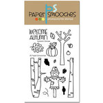 Paper Smooches - Clear Acrylic Stamps - Autumn Groves
