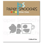 Paper Smooches - Dies - Coffee and Tea