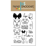 Paper Smooches - Clear Acrylic Stamps - Flap Happy