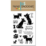Paper Smooches - Clear Acrylic Stamps - Paws for a Cause