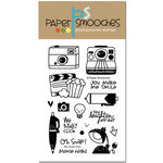 Paper Smooches - Clear Acrylic Stamps - We Totally Click