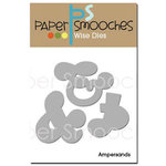 Paper Smooches - Dies - Ampersands