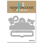 Paper Smooches - Dies - Clipboards