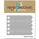 Paper Smooches - Dies - Notebook Scallop