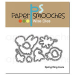 Paper Smooches - Dies - Spring Fling Icons