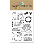 Paper Smooches - Clear Acrylic Stamps - Spectrum