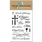 Paper Smooches - Clear Acrylic Stamps - Easter Blessings