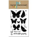 Paper Smooches - Clear Acrylic Stamps - Graceful Beauties