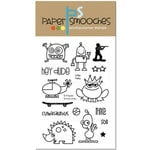 Paper Smooches - Clear Acrylic Stamps - Little Fella