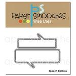 Paper Smooches - Dies - Speech Bubbles