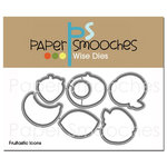 Paper Smooches - Dies - Fruitastic Icons
