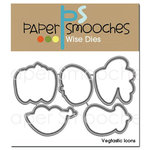 Paper Smooches - Dies - Vegtastic Icons