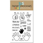 Paper Smooches - Clear Acrylic Stamps - Helping Hands