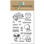 Paper Smooches - Clear Acrylic Stamps - Party Posse