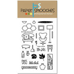 Paper Smooches - Clear Acrylic Stamps - Vogue Abode