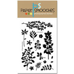 Paper Smooches - Clear Acrylic Stamps - Botanicals 2