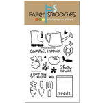 Paper Smooches - Clear Acrylic Stamps - Green Thumb