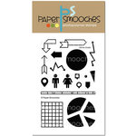 Paper Smooches - Clear Acrylic Stamps - Off The Charts