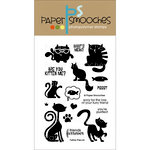 Paper Smooches - Clear Acrylic Stamps - Feline Friends