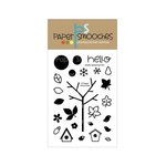 Paper Smooches - Clear Acrylic Stamps - Gently Seasoned Two
