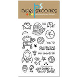 Paper Smooches - Clear Acrylic Stamps - Space Cadet