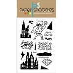 Paper Smooches - Clear Acrylic Stamps - Super