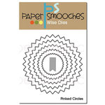 Paper Smooches - Dies - Pinked Circles