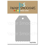 Paper Smooches - Dies - Tag Scallop