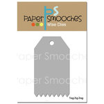Paper Smooches - Dies - Tag Zig Zag