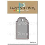 Paper Smooches - Dies - Tag Stitched