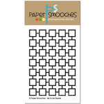 Paper Smooches - Clear Acrylic Stamps - Hip to be Square
