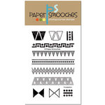 Paper Smooches - Clear Acrylic Stamps - Tri-balation