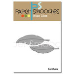 Paper Smooches - Dies - Feathers